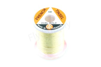 UTC French Tinsel oval gold