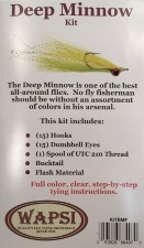 Deep Minnow Fly Tying Kit