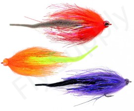Dragon Tail Pike Streamer Set 3pc