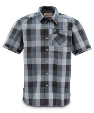 Simms Espirito Shirt Simms Orange Block Plaid