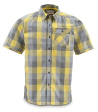 Simms Espirito Shirt Wheat Block Plaid