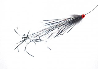 Eumer Pike Tube Fly Black/Silver