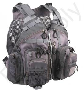 Euro Flies Tactical Mesh Vest Grey