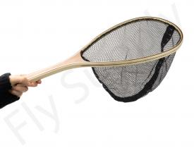 Euro Flies Wooden Landing Net