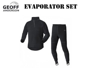Geoff Anderson Evaporator Set Shirt & Trousers Black