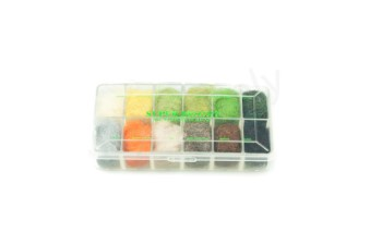 Dubbing dispensers 12 color super bright I