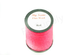 Fluo wool on spools