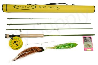 Vision Big Daddy Cork Handle Pike Set Pro #9 - 9ft