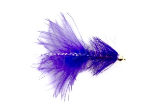 Goldbead Wooly Bugger Purple 2,5 cm