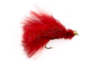 Tungsten Marabou Streamer Red #8