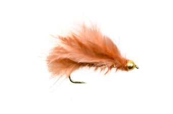 Tungsten Marabou Streamer Brown #8