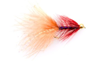 Tungsten Brown Purple Trout Streamer #8