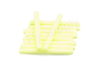 Booby tubes medium 6 mm  Yellow