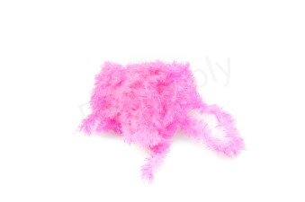 Blob chenille 15 mm Fluo Pink
