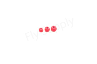Bright beads Fluo Pink  25pc