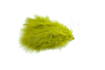 Marabou 12 loose feathers  Olive