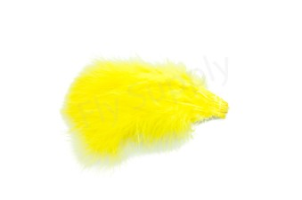 Marabou 12 loose feathers  Golden Olive