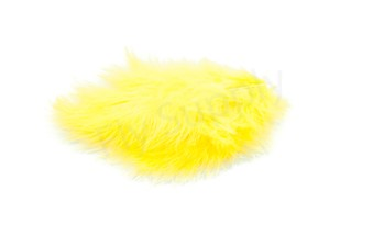 Marabou 12 loose feathers  Gold