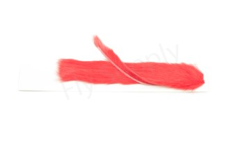 Zonkerstrips 3 mm dyed Red