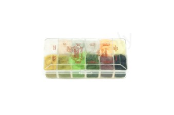 Dubbing dispensers 12 color beaver