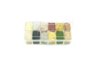 Dubbing dispensers 12 color mink