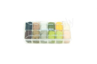 Dubbing dispensers 12 color super fine I