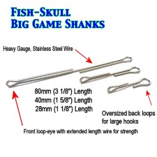 Fish Skull Articulated Big Game Streamer Shanks