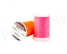 Flat Translucent Body Fly Fibers On Spool