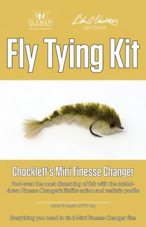 Fly Tying Kit Chockletts Mini Finesse Changer 7cm