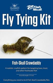 Fly Tying Kit Fish-Skull Crawdaddy