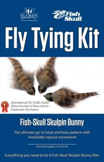 Fly Tying Kit Fish-Skull Skulpin Bunny