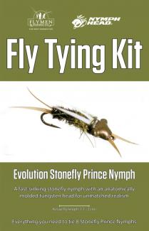 Fly Tying Kit Nymph Head Evolution Stonefly Prince Nymph