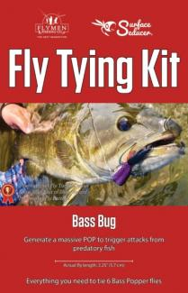 Fly Tying Kit Surface Seducer Bass Bug