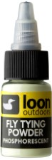 Loon Fly Tying Powder Phosphorescent Glow In The Dark
