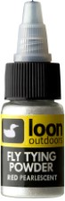Loon Fly Tying Powder Pearlescent Red
