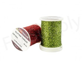 Glitter Thread On Spool