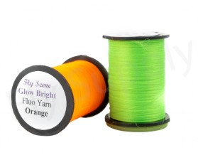 Glow Bright Floss fluo on spools