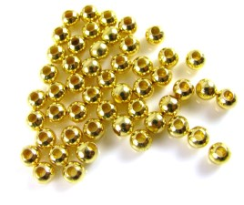 Gold Beads 100pc