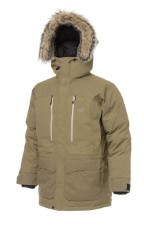 Geoff Anderson Goosey Down Parka Light Brown jacket