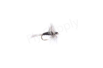 Grizzly Hackle Dry Midge #20