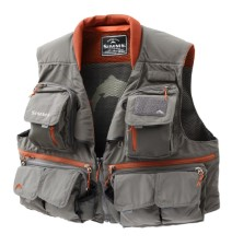 Simms Guide Vest Greystone Size S