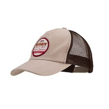 Hardy Trucker Hat Khaki/Brown Washed