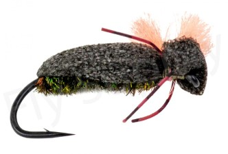 High Visible Foam Beetle - Complete Tying Kit - Fly Supply TV