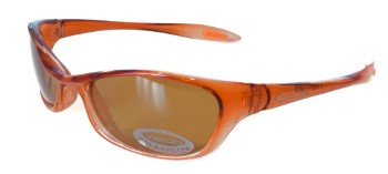 Vision 4Head Sunglasses Yellow Brown Polarflite