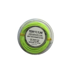 Jim Teeny Small Streamer Floating WF Chartreuse Fly Line