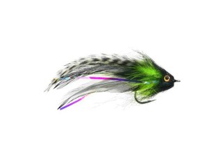 Umpqua Jungle Love Black/Chartreuse #2/0