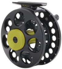 Vision Kalu Black Reel Green Knob