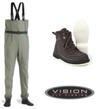 Vision Keeper 2.0 Waders and Shoes