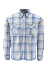 Simms Kenai Shirt Blue Plaid