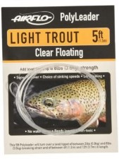 Airflo Polyleader Light Trout 5ft